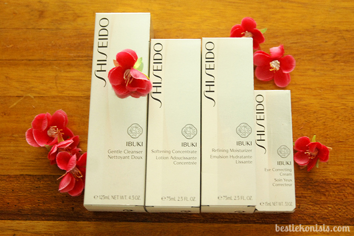 Shiseido Ibuki Skincare Line Review