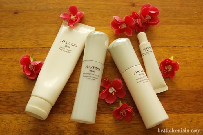 Shiseido Ibuki Skincare