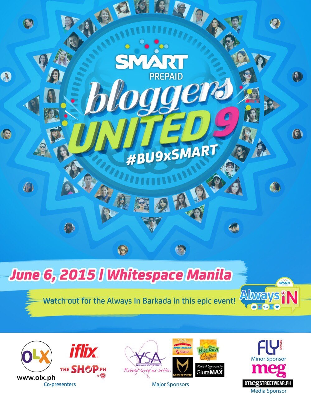 Bloggers United 9 Poster