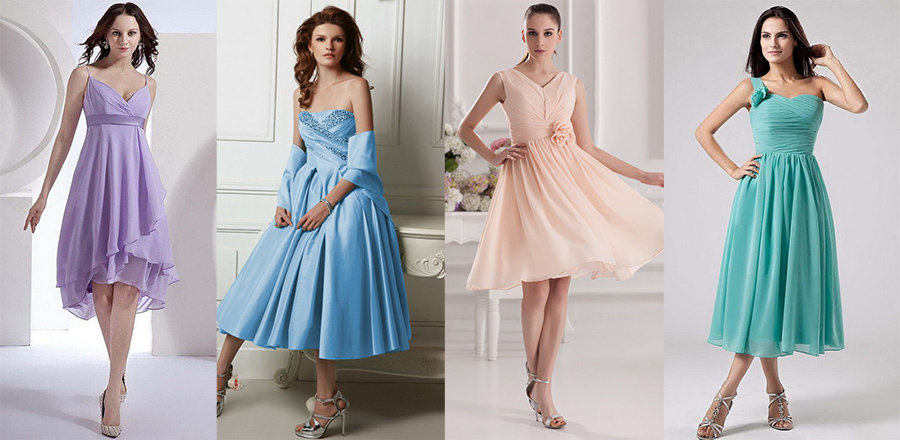 the capricious club - Wishlist Wednesday: Pastel Bridesmaid Dresses