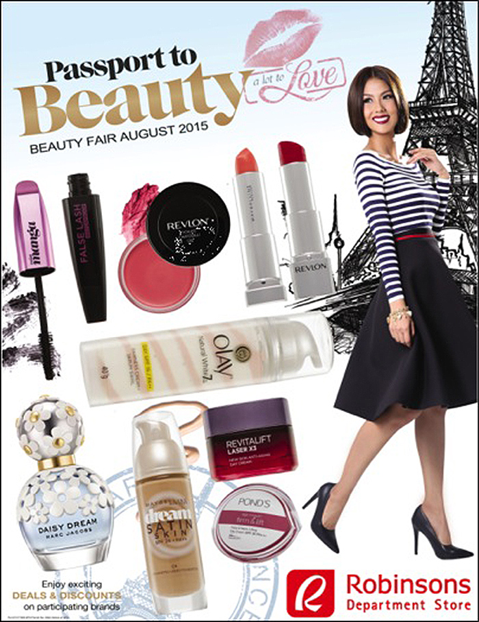 Robinsons passport to beauty 2015