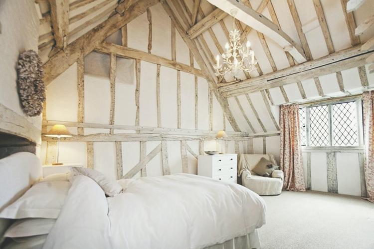 bedroom-sloped ceiling