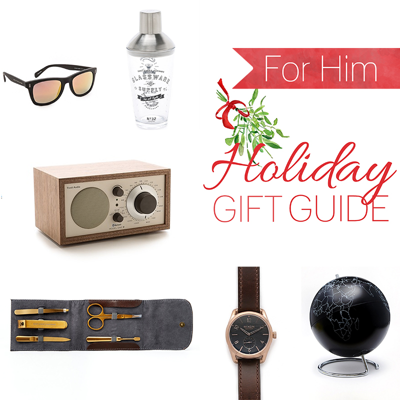 Christmas Holiday Gift Guide For Him Boyfriend Husband Friend Brother