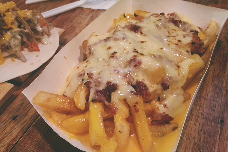 BoxPark The Fry Guys Bacon Cheese Fries