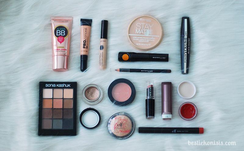 bestiekonisis - Best Drugstore Makeup 2016