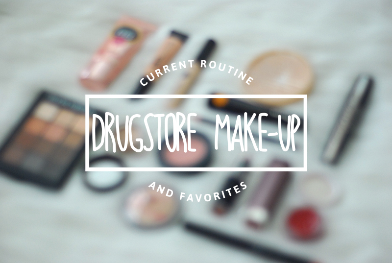 bestiekonisis -Drugstore Makeup Routine Favorites 2016