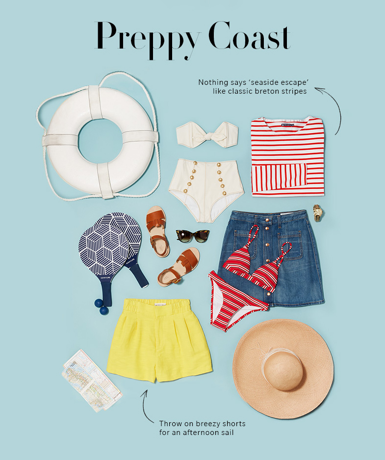 nautical vacation must-haves