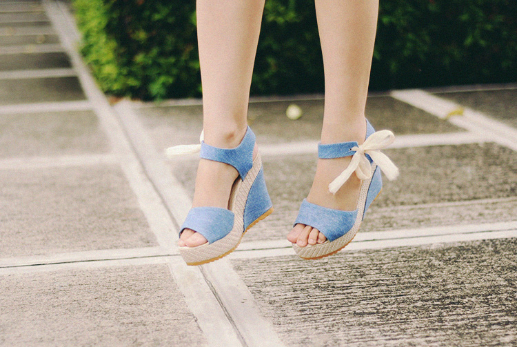 ribbon wedges