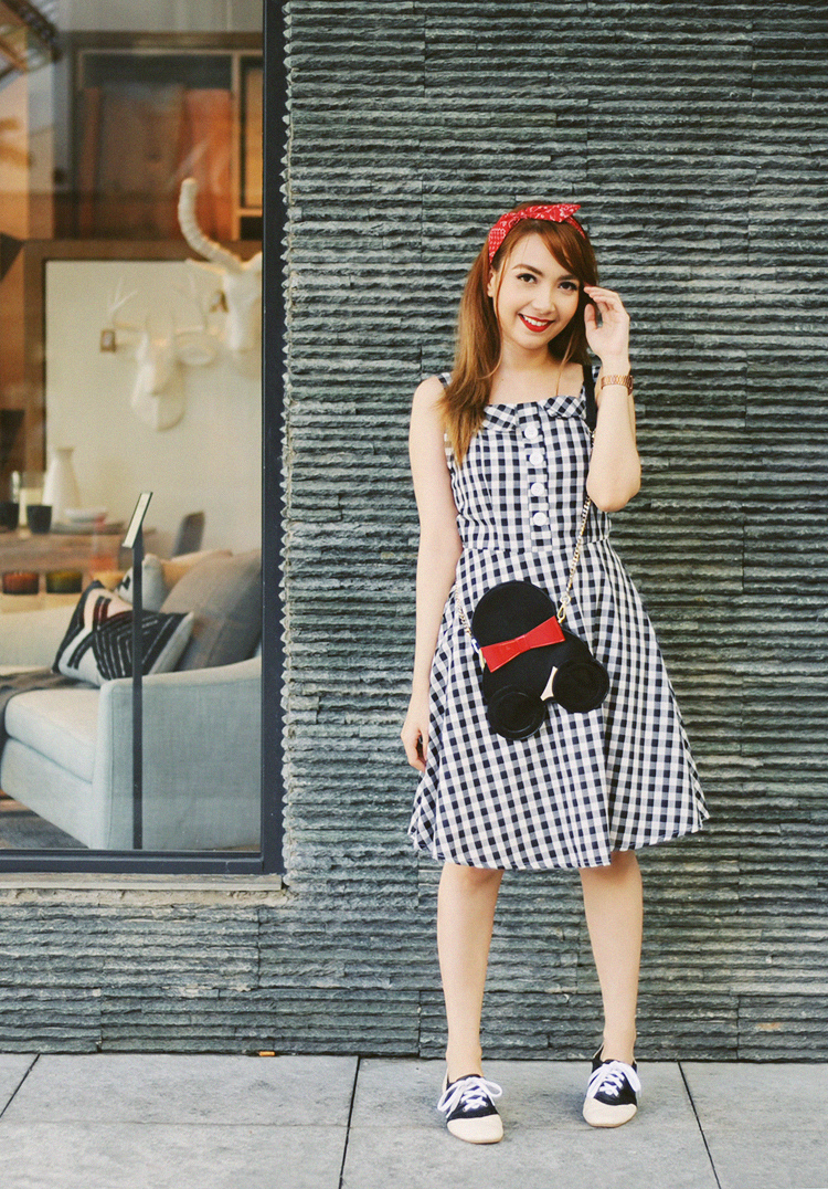 50s inspired outfit
