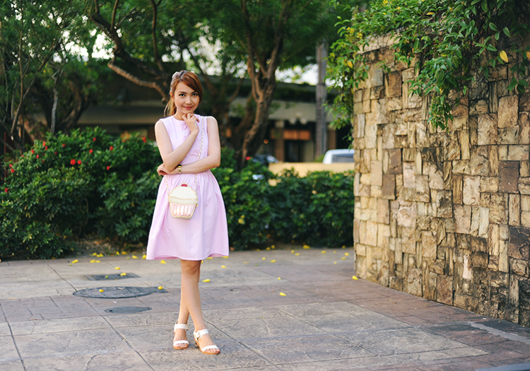pink dress outfit