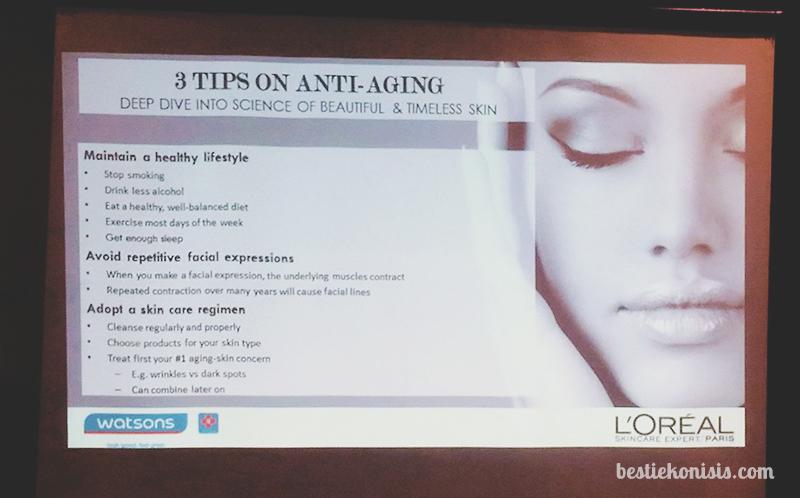 loreal revitalift anti aging tips