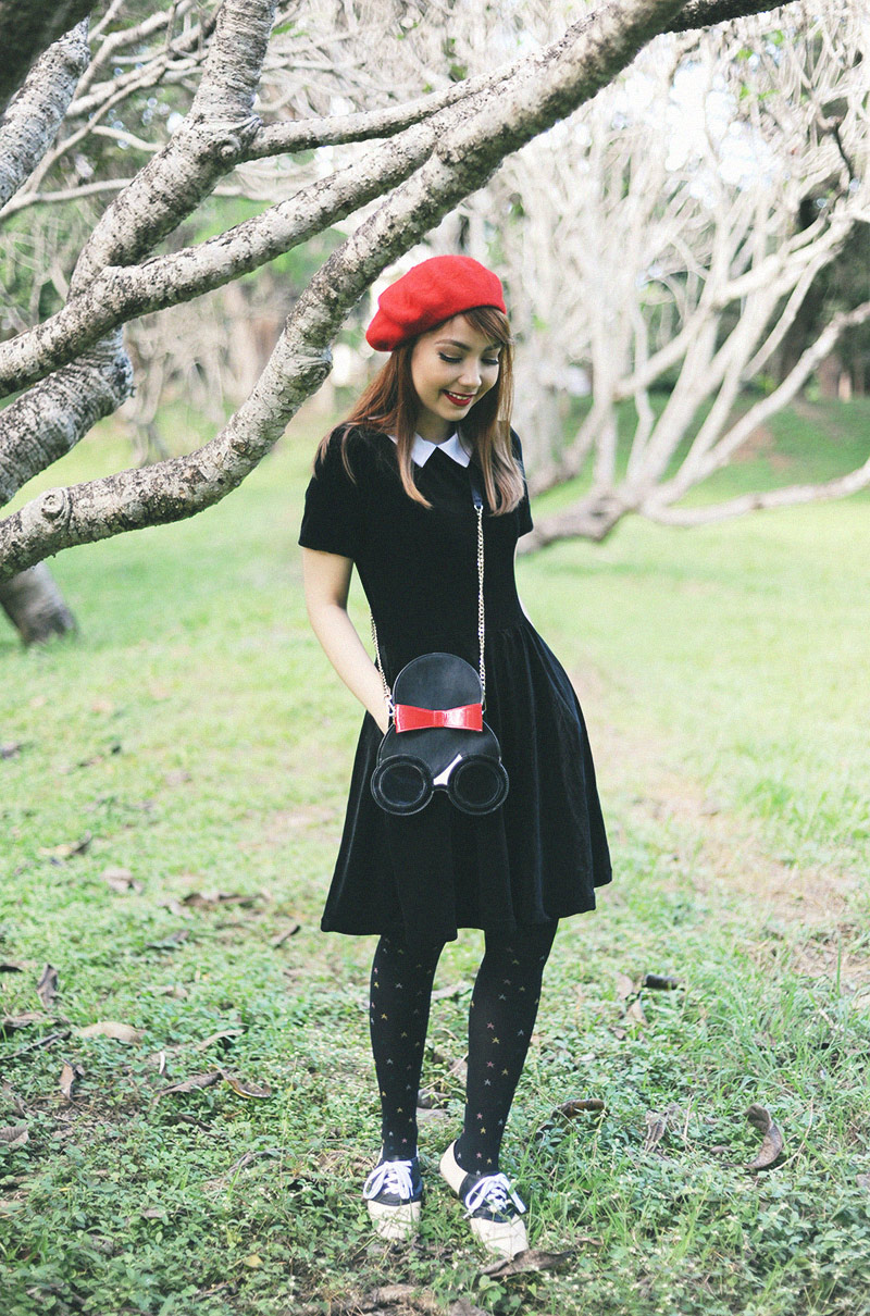 black wednesday addams dress