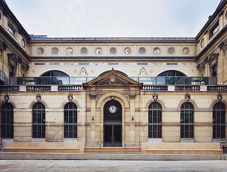 richelieu quadrangle restoration, paris national library-france