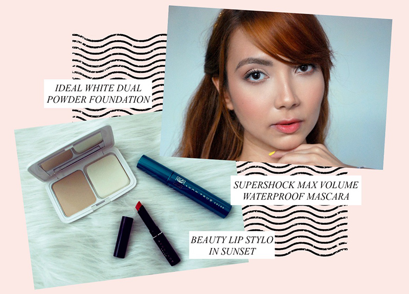 Avon Summer Makeup - fresh face, ombre lip, supershock mascara