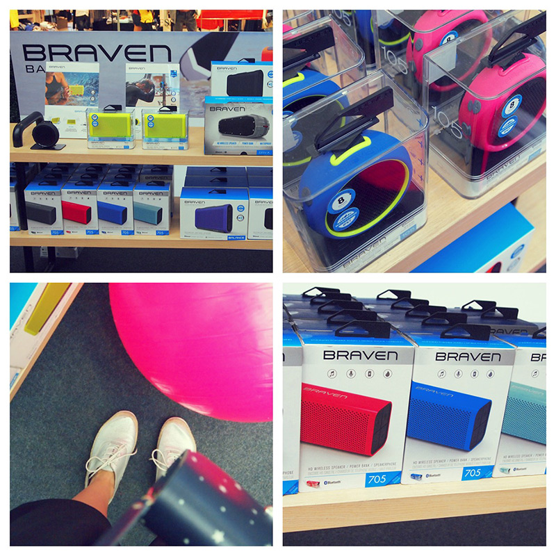 braven colorful speakers
