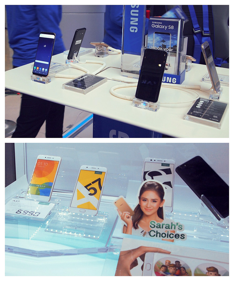 samsung, oppa cellphone promo