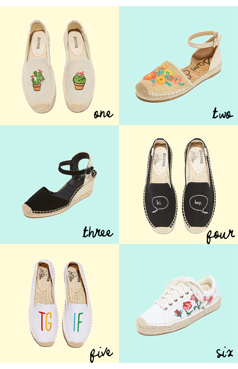 best affordable espadrilles online