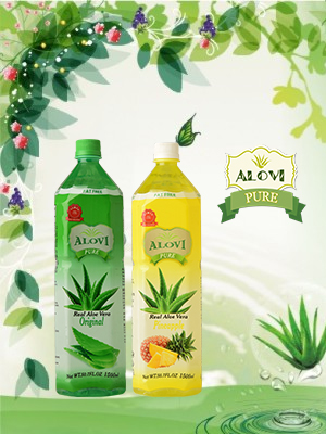 best aloe vera drink with pulp