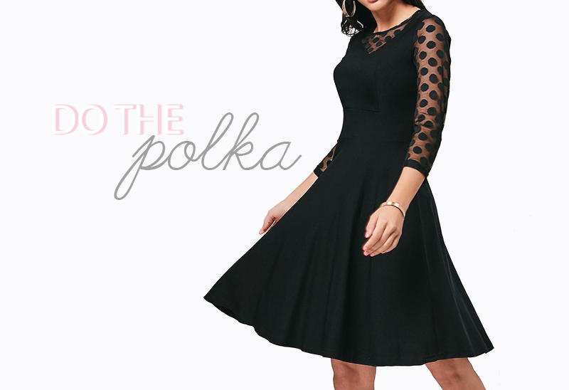 polka dot dress wishist