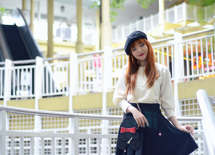beret outfit