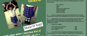 Mario D' boro Back To School Shoefie Contest
